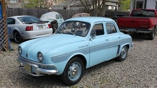 1964 Renault Dauphine Automatic - Walk Around!