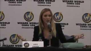 Katie Cassidy Q&A Wizard World Comic Con Philadelphia 2015