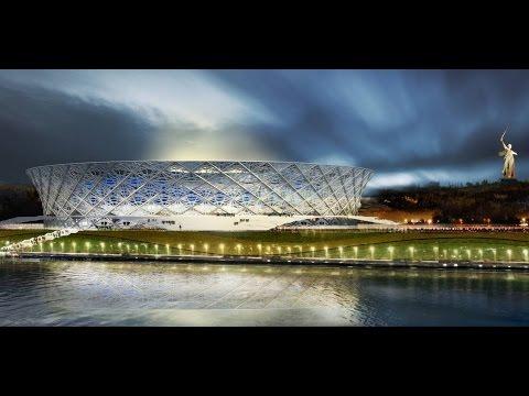 Как сейчас выглядит Волгоград арена (Стадион Победа) It now looks the Volgograd arena