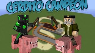CERDITO CAMPEON - Willyrex vs sTaXx - Carrera De Cerdos - MINECRAFT