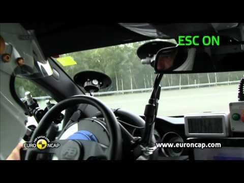 Euro NCAP | Mercedes C-Class Coupe | 2011 | Электронный контроль устойчивости