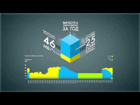 Infographic animation flash