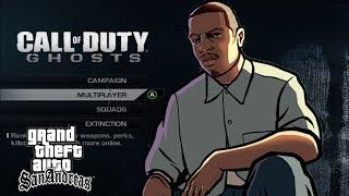 Carl Johnson (CJ) Plays Call of Duty: Ghosts (Soundboard Gaming)