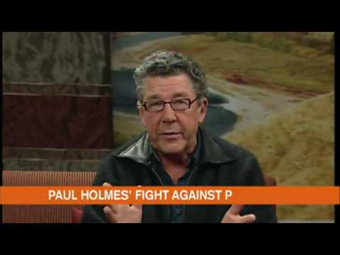 Paul Holmes to be  roasted  during methamphetamine.   fundraiser   ..