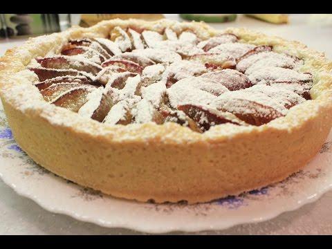 Пирог со сливами - как приготовить сливовый пирог вкусно и быстро.