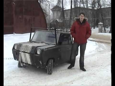 Пародия на Top Gear   Инвалидка   СМЗ С 3Д