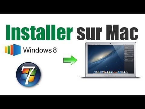 Installer Windows 8 ou 7 parfaitement et fonctionnel sur Mac via Bootcamp - Tutoriel complet