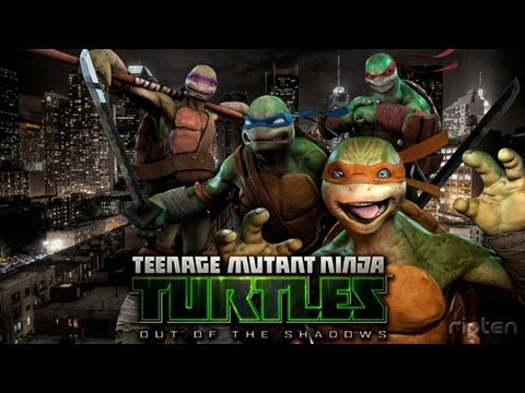 Teenage Mutant Ninja Turtles Out of the Shadows PC   Las tortugas ninjas en accion