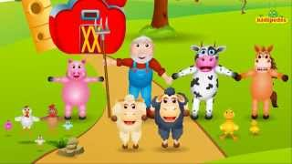 Old Macdonald Had A Farm - #OldMacdonald - Popular #NurseryRhyme I Children Song