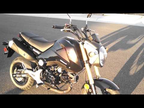 Honda Grom msx125 cc Quick Look 2014