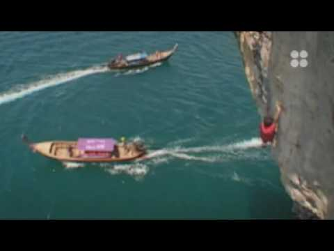 Deep Water Soloing mit David Lama
