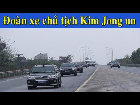 Đón chủ tịch Kim Jong un đúng là có khác