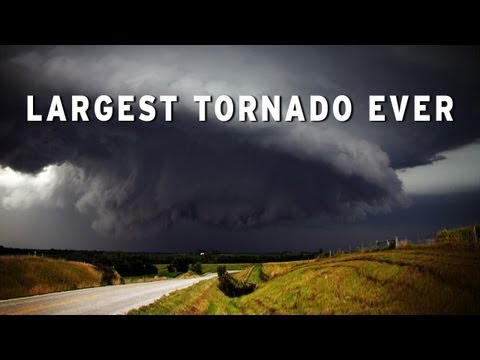 Largest Tornado in United States Ever