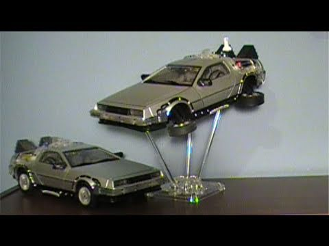 Back to the Future 2: 1/15th Scale Time Machine (DeLorean) Toy Review