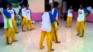 midbrain activation world mcb - DEMO TAEKWONDO kicks of KUJANG Group - MCB Stevie Lengkong 3