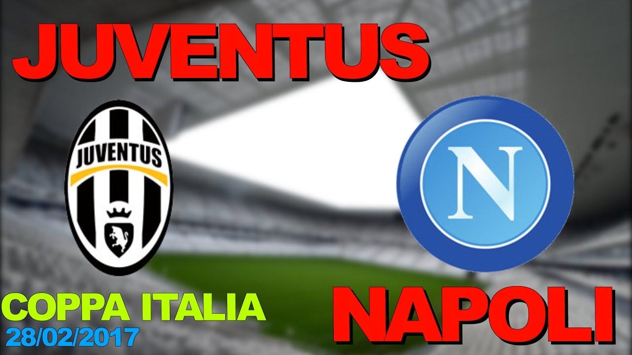 Juventus Napoli Live Coppa Italia Diretta Streaming Del  Youtube