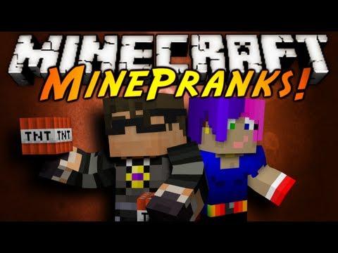 Minecraft: MinePranks Episode 1!