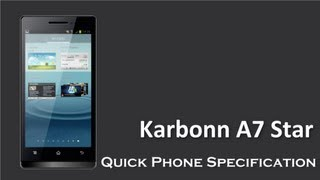 Karbonn A7 Star is coming in the market with 5 MP Auto Focus Camera
