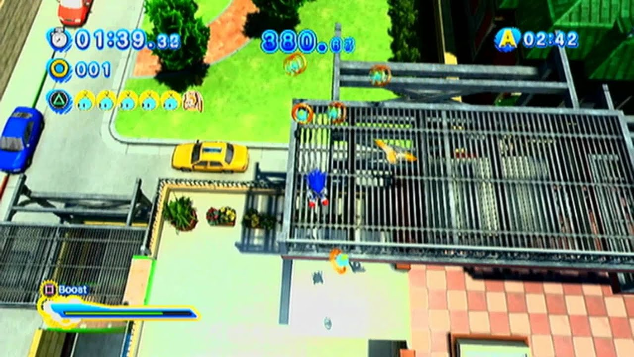 sonic generations city escape challenge 1 modern