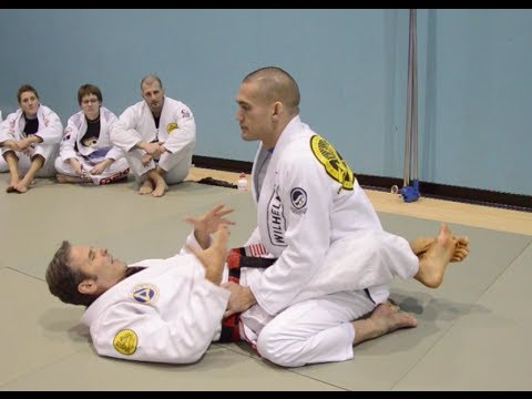Keeping your Oppoenent Grounded in BJJ with Pedro Sauer