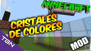 Minecraft Pocket Edition 0.15.3- Cristales de Color Mod- Mods Para Minecraft PE 0.15.3