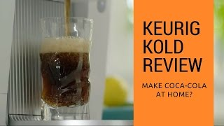 Keurig Kold Review: Soda Machine for the Home
