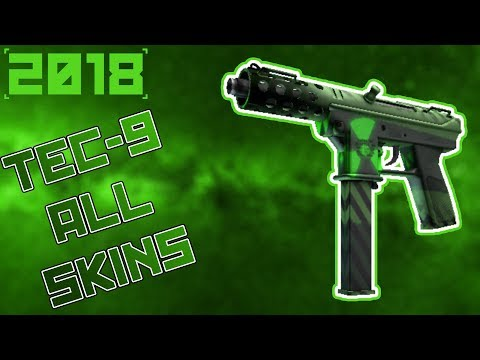 CS:GO | Tec - 9 - All Skins Showcase + Prices 2018