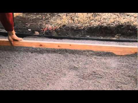Installing Pavestone Patio Stone Video