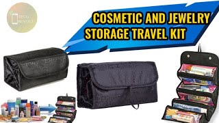 Cosmetic Organiser Travel Toiletry Kit Unboxing and Review   Cosmetic/Jewelry Storage Kit Rs. 202