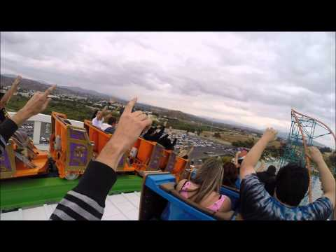 Twisted Colossus ride on