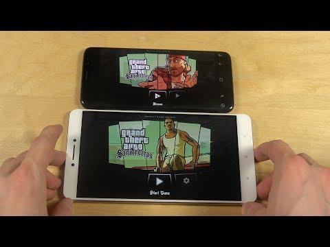 GTA San Andreas Samsung Galaxy S8 vs  Xiaomi Mi Max Gameplay Review!
