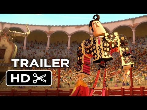 Book of Life Official Trailer #1 (2014) - Channing Tatum. Zoe Saldana Animated Movie HD
