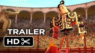 The Book of Life Official Trailer #1 (2014) - Channing Tatum, Zoe Saldana Animated Movie HD