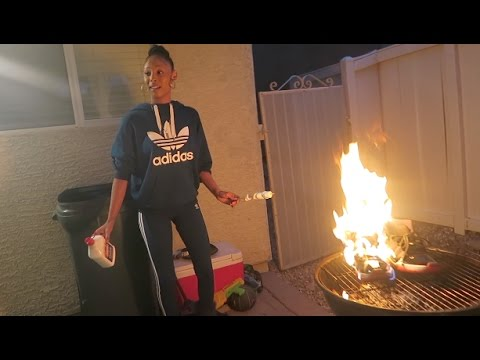 Crazy Girlfriend Burned My OG BRED 11's PRANK (TOO REAL TO BE A PRANK)