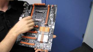 Gigabyte X79-UD7 SLI Gaming Overclocking Motherboard Unboxing & First Look Linus Tech Tips