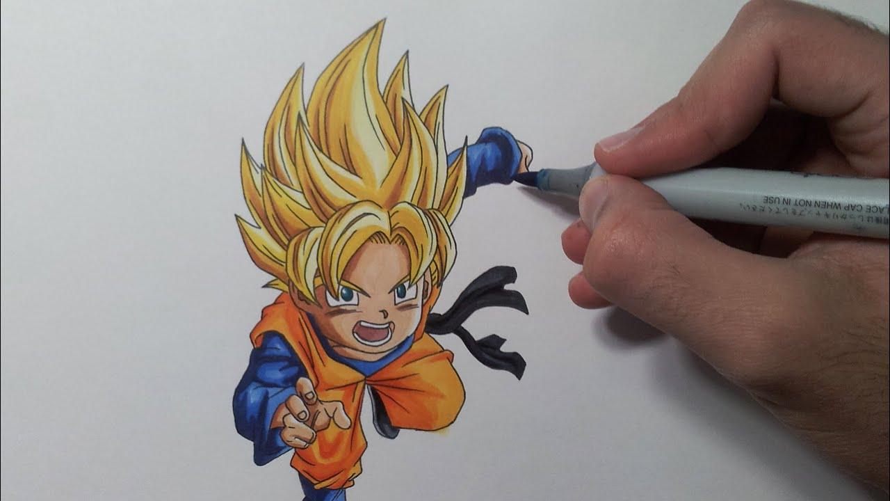 Super Saiyan 4 Drawings Drawing Goten Super Saiyan |