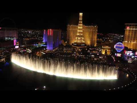 Bellagio Fountains: Hallelujah video