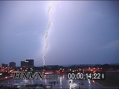 7/24/2003 Time-lapse Lightning Footage At Dawn