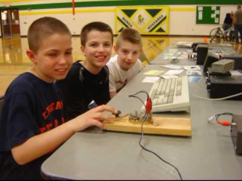 Students Learn Radio Communications