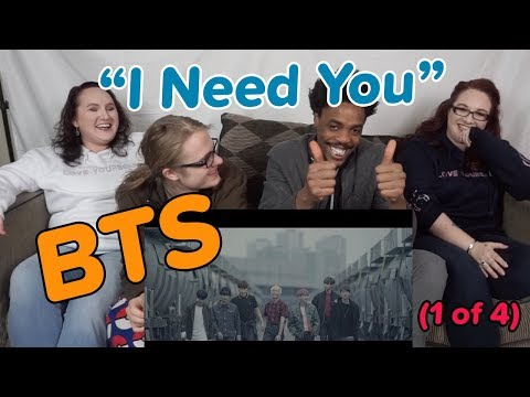 BTS (방탄소년단) I NEED U Official MV (Original ver.) [REACTION 1 of 4]