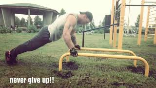 Street workout, kalistenika