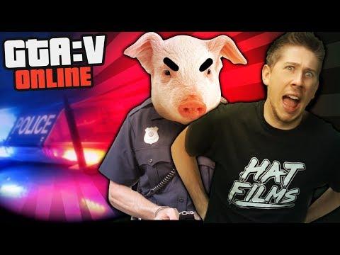 DON'T ARREST ME, PIG! | GTA 5 Online Playlist