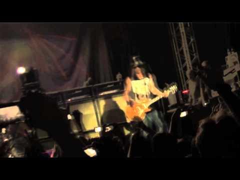PORN QUEEN & SLASH - Porto Alegre / Brazil 2012