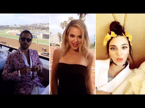 Khloe Kardashian | Snapchat Videos | July 27th 2016 | ft Kendall Jenner & Scott Disick