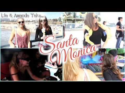 Amanda & Lia Take Santa Monica!! || Follow Us Around