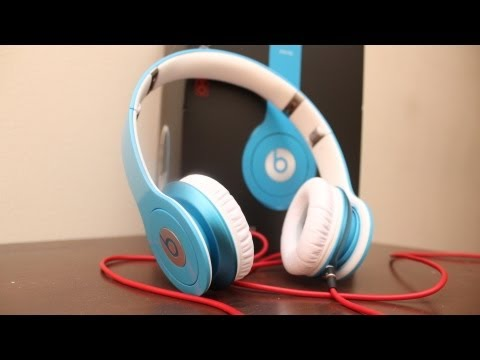 Beats By Dre Solo HD Review (New Color Smartie Blue)