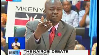 Nairobi County Gubernatorial debate - 2017