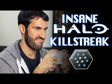 MOST INSANE HALO 4 KILLSTREAK EVER!