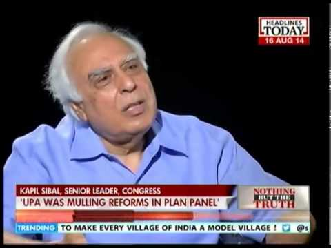 Nothing But The Truth: Kapil Sibal: Modi's I-Day speech is old wine in new bottle