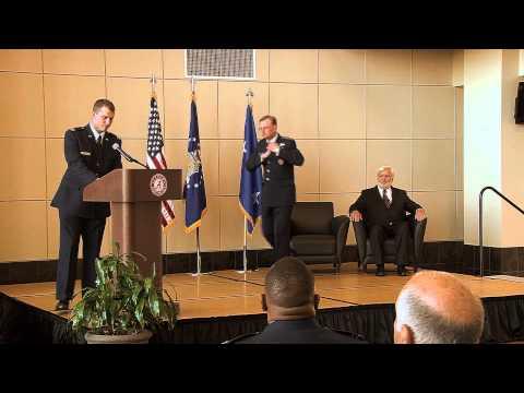 Purple Heart Ceremony for Mr. John L. Hooks